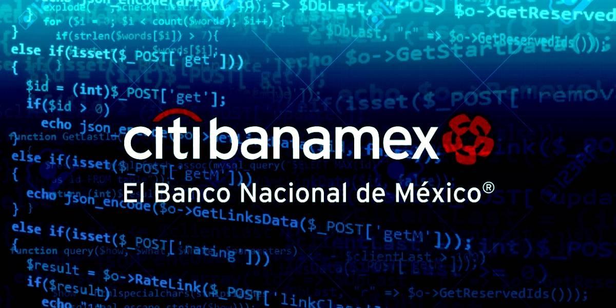Aplicaciones: el código fuente de Citibanamex y otros bancos se filtró, ¿afecta tu cuenta? [Actualizado]