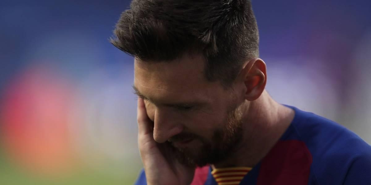 FC Barcelona publicó curioso mensaje en sus redes tras anuncio de Lionel Messi