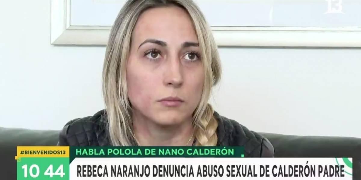 """La acusación de abuso sexual de polola de """"Nano"""" Calderón contra su suegro: """"Sé que es una persona poderosa, tengo miedo de que no me crean"""""""