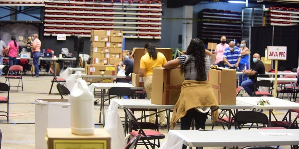 CEE detiene escrutinio tras orden de entrega de listas de voto adelantado