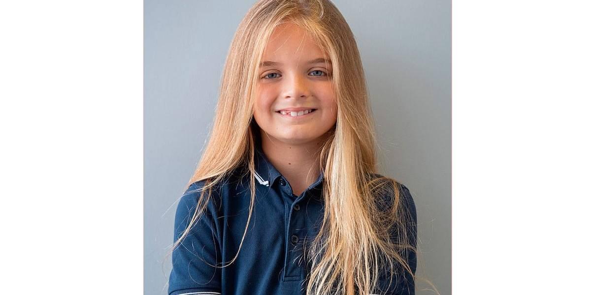 Garoto faz primeiro corte de cabelo aos 9 anos e doa para crianças com câncer