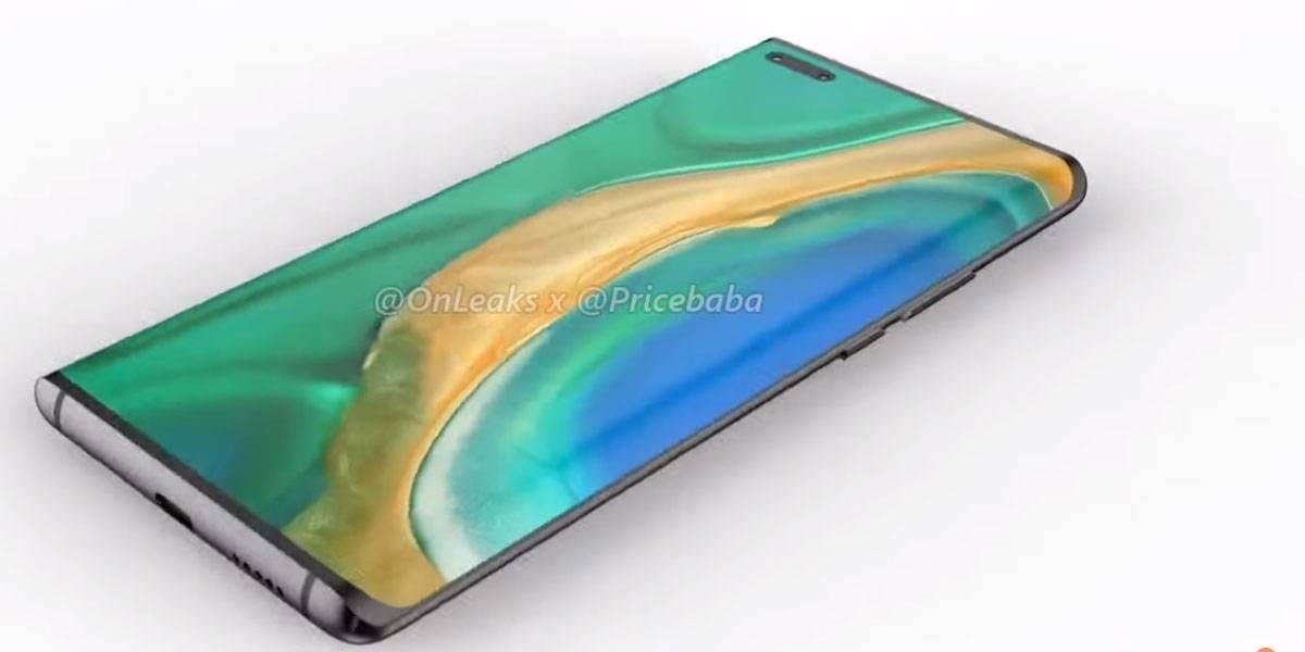 Huawei Mate 40 Pro: se filtra cristal de pantalla y confirma cómo luce por el frente