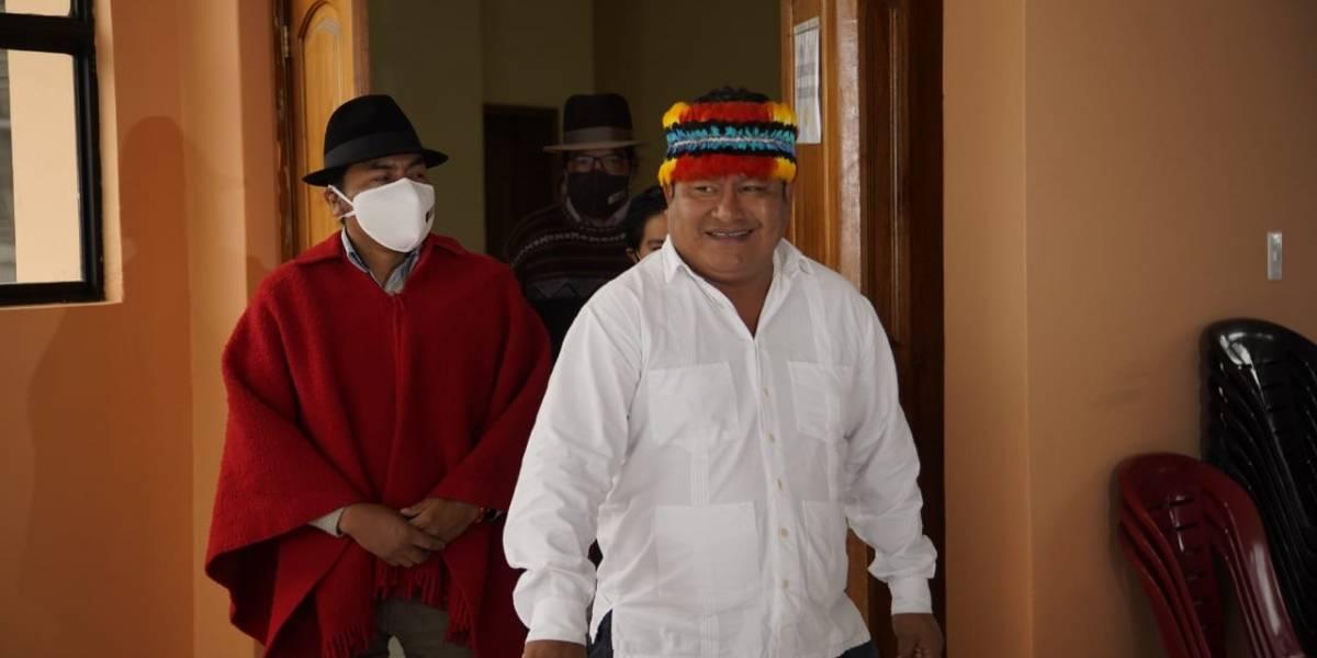 Leonidas Iza y Jaime Vargas no serán candidatos para elecciones 2021, pero apoyarán a Pachakutik