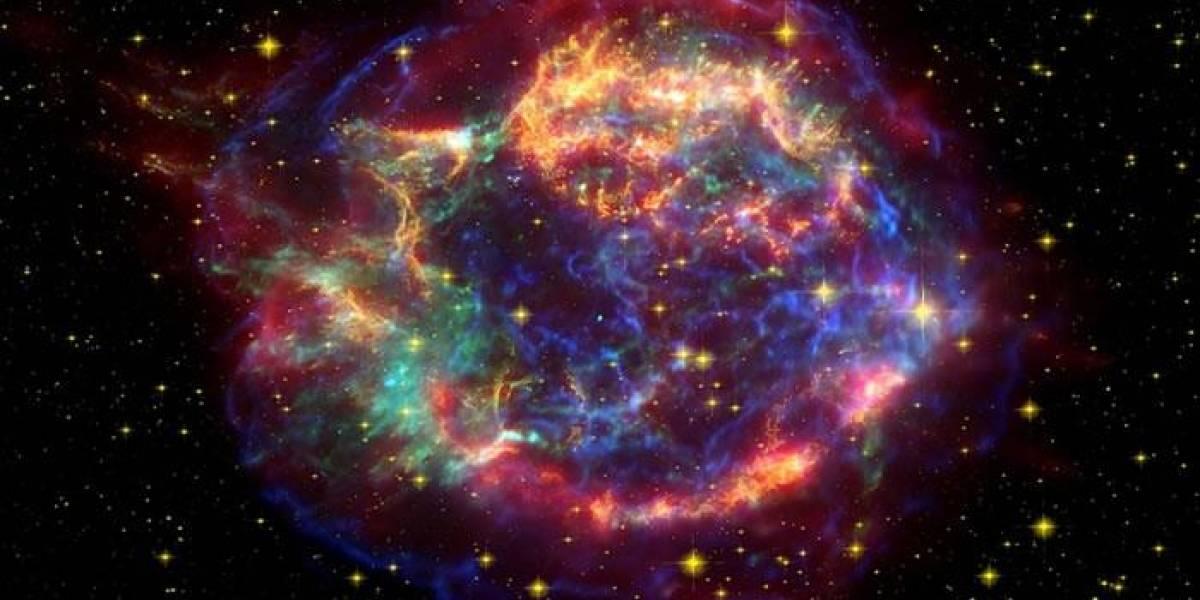 Cuatrocientos años después los escombros de la explosión de la supernova Kepler no disminuyeron