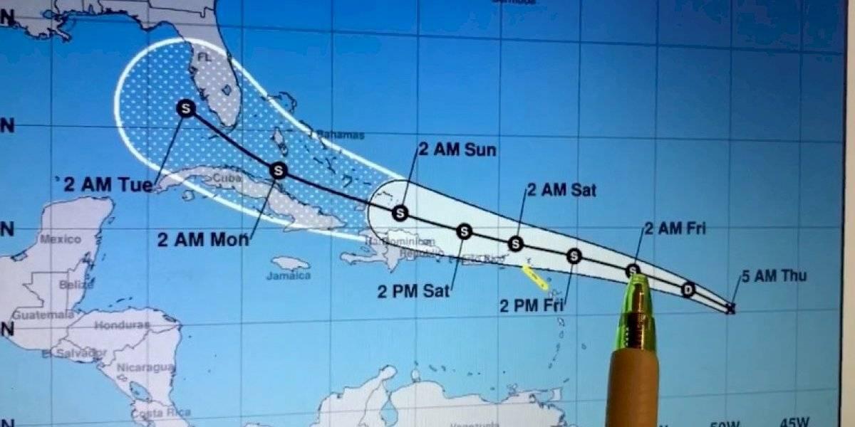 Depresión tropical #13 pasaría al norte de Puerto Rico como tormenta