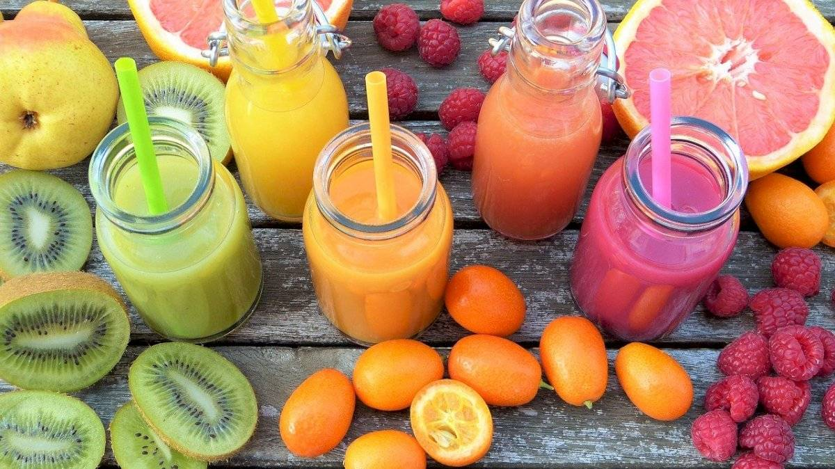 frutas y jugos