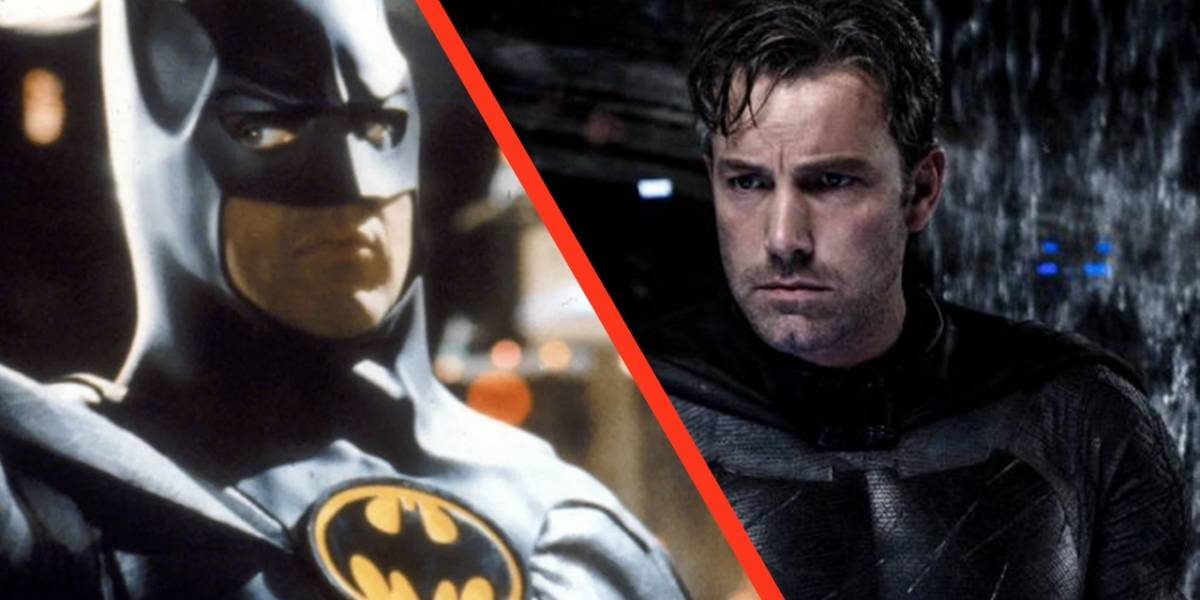 Batman: Michael Keaton y Ben Affleck volverán a interpretar al Caballero de la Noche