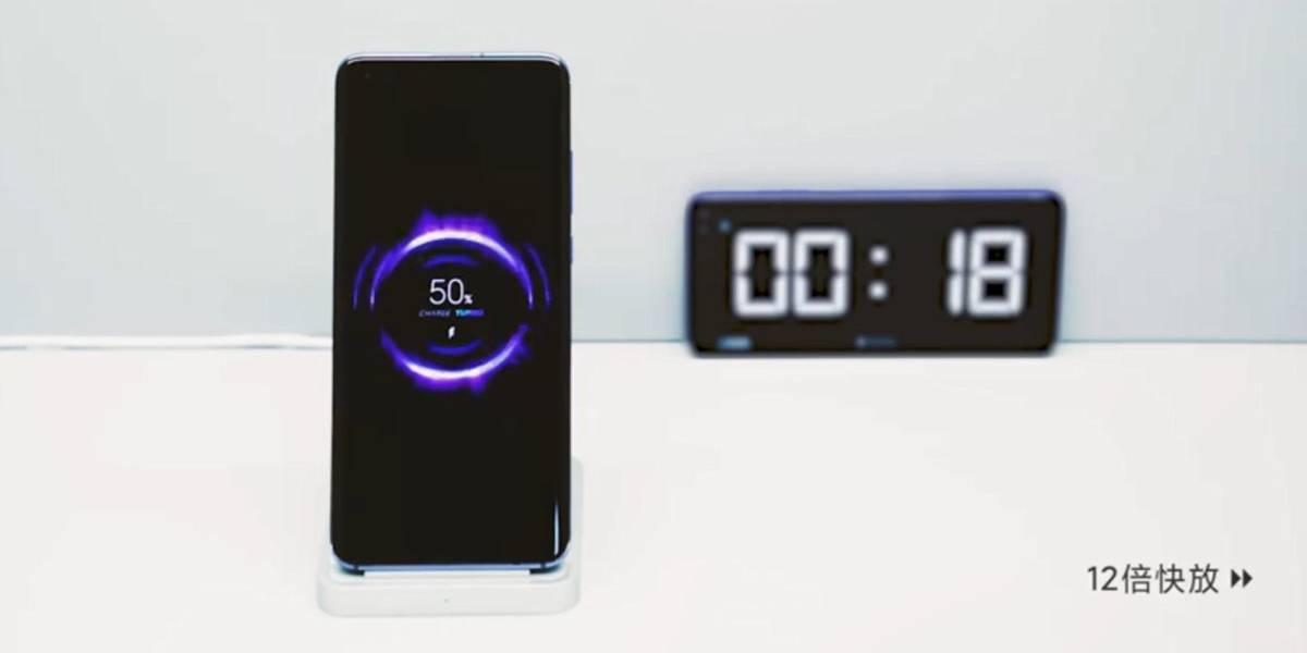 Xiaomi revela cómo su carga inalámbrica de 50 W llega al 100% en 40 minutos