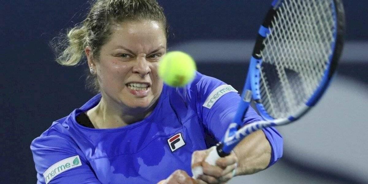 Kim Clijsters abandona torneo previo al U.S. Open 2020 por lesión