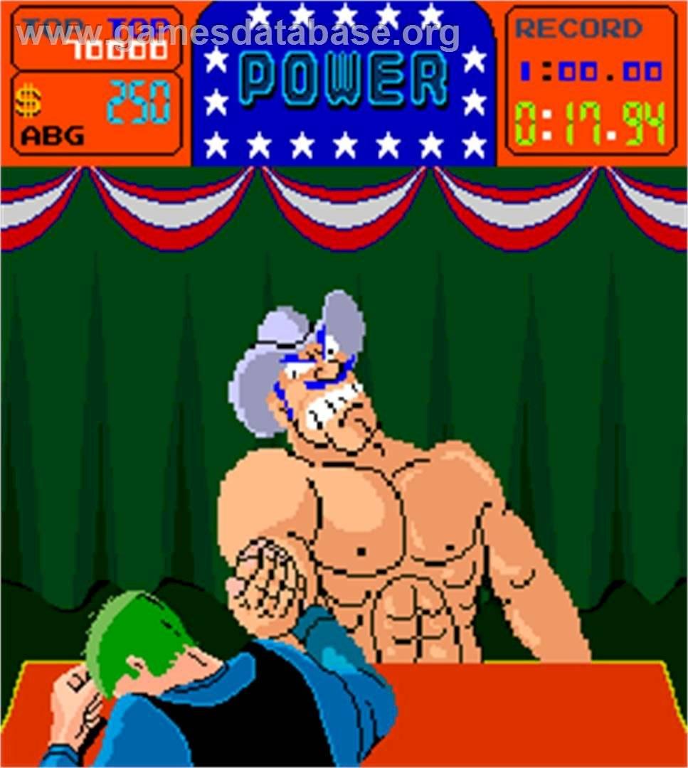 Recordamos a Arm Wrestling en un nuevo Flashback de Mundo Bizarro