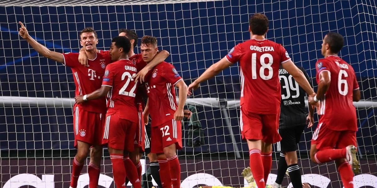 Liga dos Campeões: a trajetória do finalista Bayern de Munique