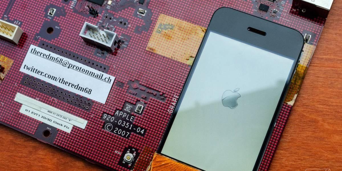 Este fue el primer prototipo del iPhone: sí todo eso se necesitaba para hacer un celular