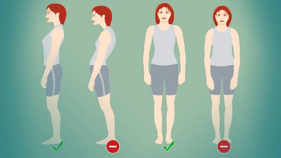 posturas que sacan barriga