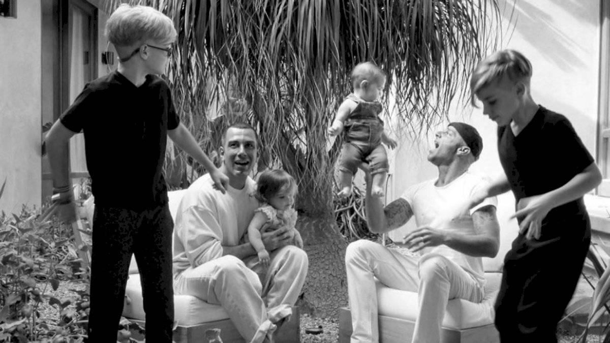 Ricky Marin tiene un total de cuatro hijos