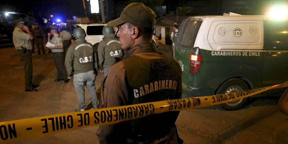 Balacera en La Pintana deja a dos fallecidos y a menor de edad herido