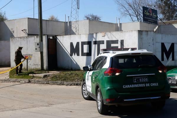 Muerte de carabinera en un motel: ex policía uniformado es el principal sospechoso del asesinato