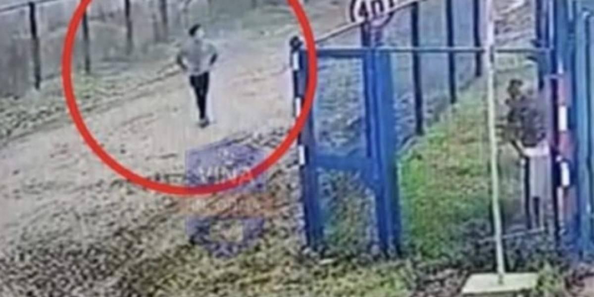 Crimen de carabinera: video revela escape del presunto homicida desde el motel de Linares