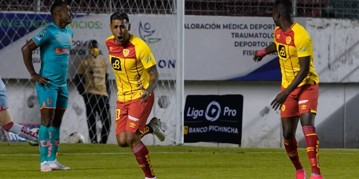 Aucas vs Liga de Quito: ¡Papá se queda con el Superclásico!