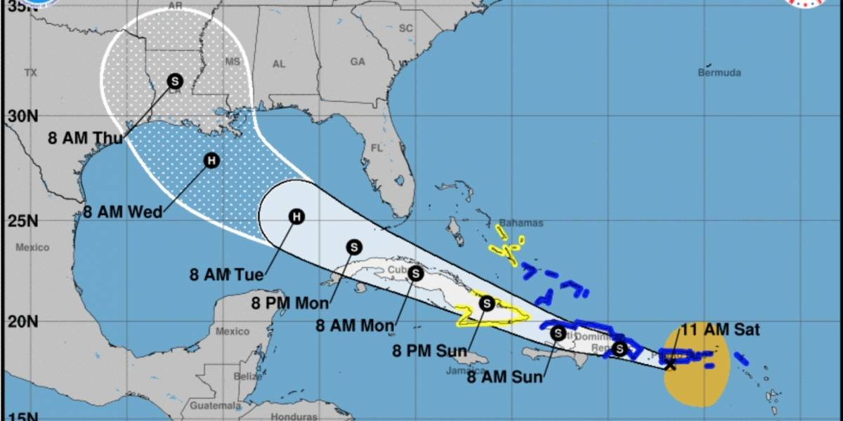 Tropical Storm Laura strengthens approaching the Island