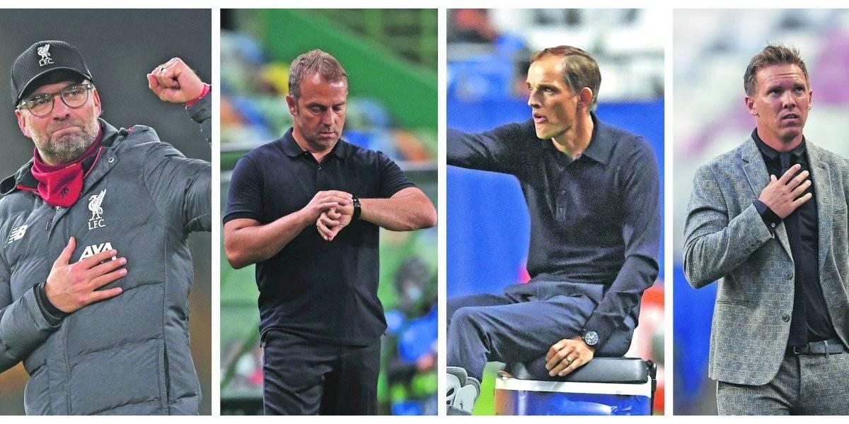 Klopp, Flick, Tuchel y Nagelsmann: La escuela alemana da clases en el fútbol mundial