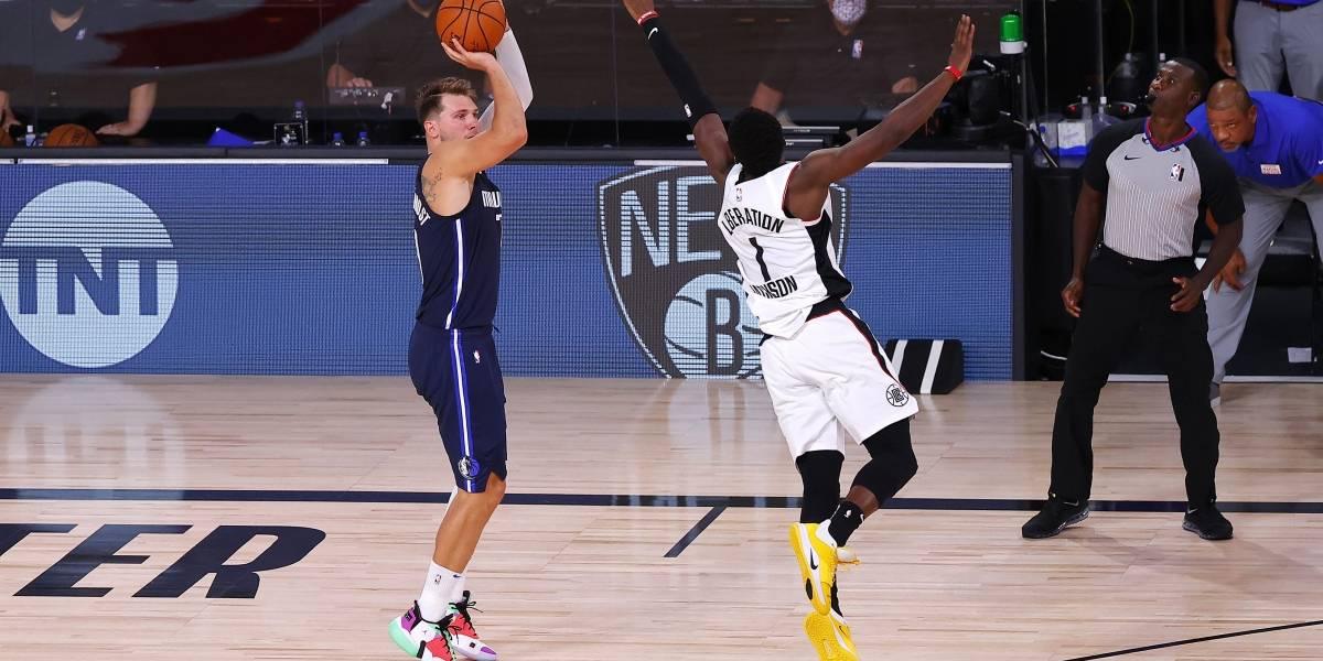 Doncic luce imbatible en triunfo de Mavericks sobre Clippers