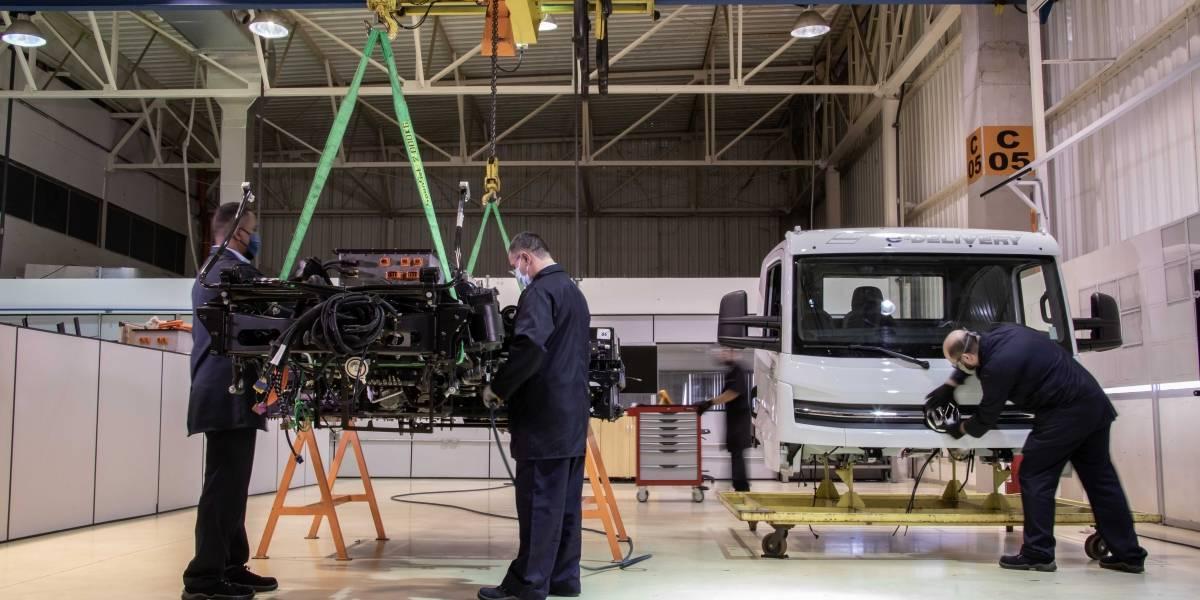 VW Caminhões e Ônibus inicia el ensamblaje de los primeros e-Delivery eléctricos