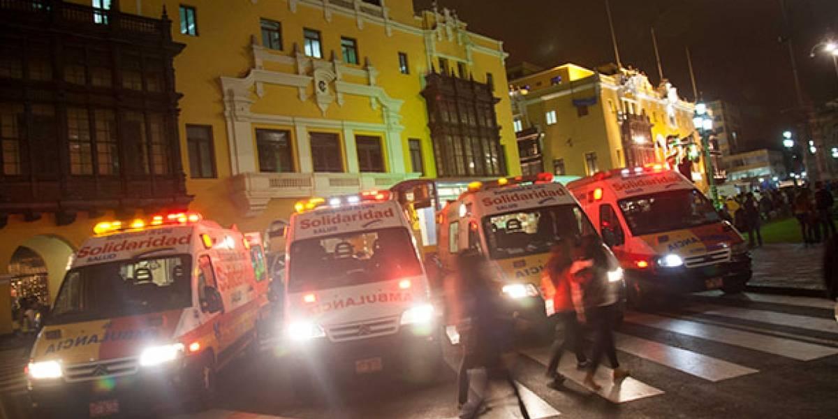 Perú: 13 personas mueren por asfixia en fiesta clandestina