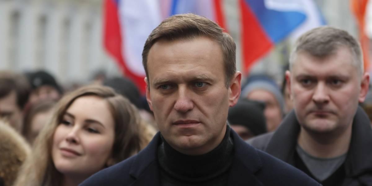 El líder opositor ruso Alexei Navalny salió del coma tras envenenamiento