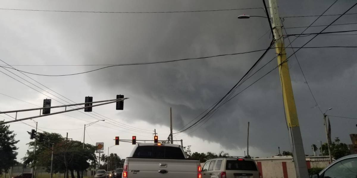 VIDEO: Extraña nube sorprende a residentes de Dorado