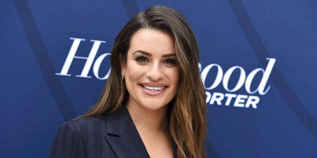 "Actriz de ""Glee"" Lea Michele da a luz a su primer hijo"