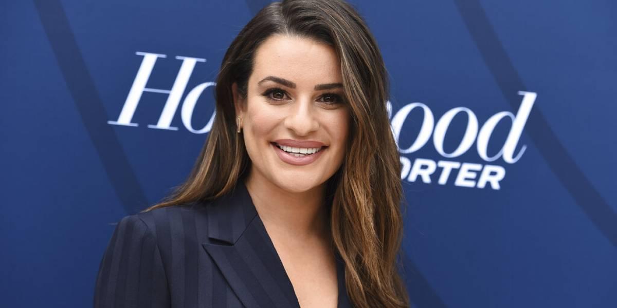 """Estrella de """"Glee"""" Lea Michele da a luz a un niño"""