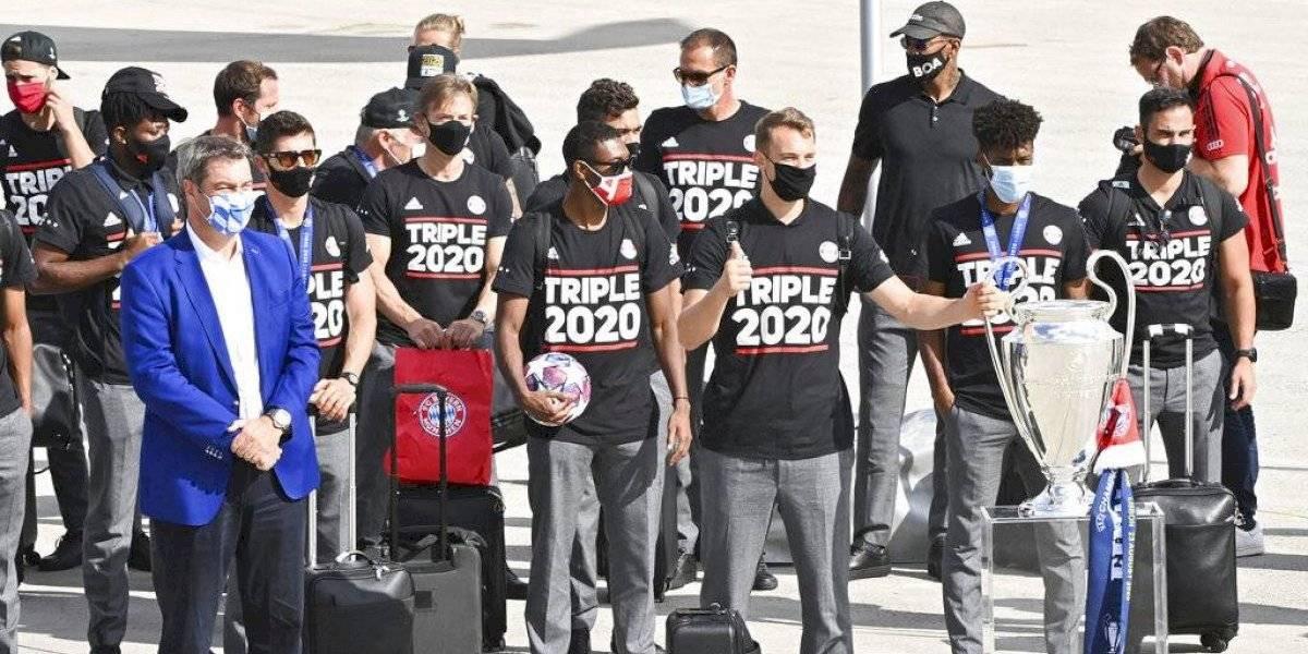 La sencillez del Bayern Múnich: llegaron calladitos a Alemania