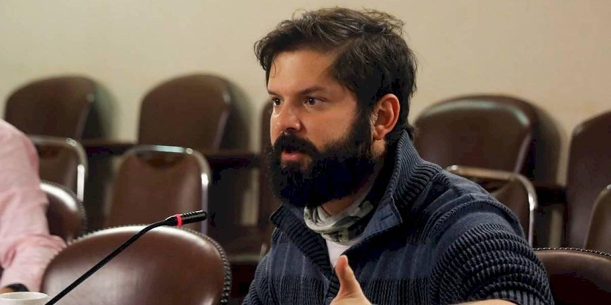 """Gabriel Boric le responde a los camioneros: """"¿Qué se creen? No legislamos por chantajes ni amenazas"""""""