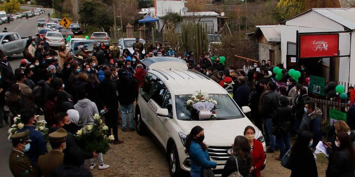 Norma Vásquez tuvo un masivo funeral marcado por las peticiones de justicia