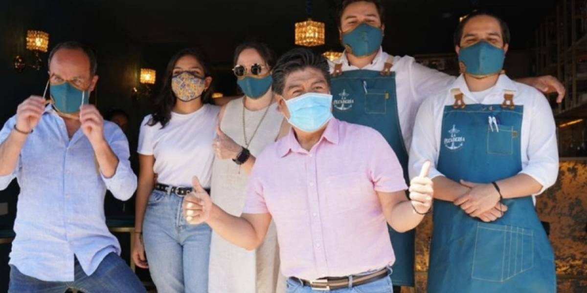 Jorge Yunda analiza viabilidad de laboratorios urbanos en Quito; fase 1 inicia en Cumbayá