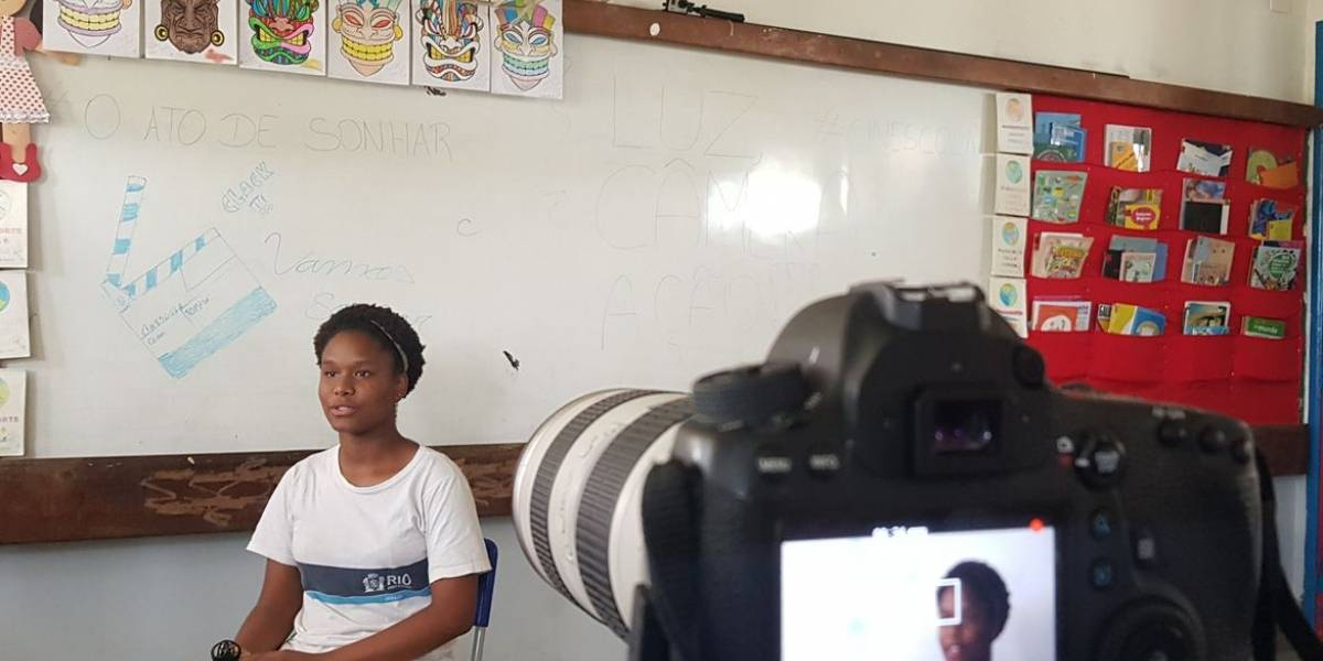 Filme produzido por alunos da rede pública do Rio vence festival
