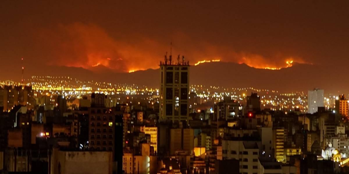 Incendios en Córdoba, Argentina ya han consumido más de 14.000 hectáreas