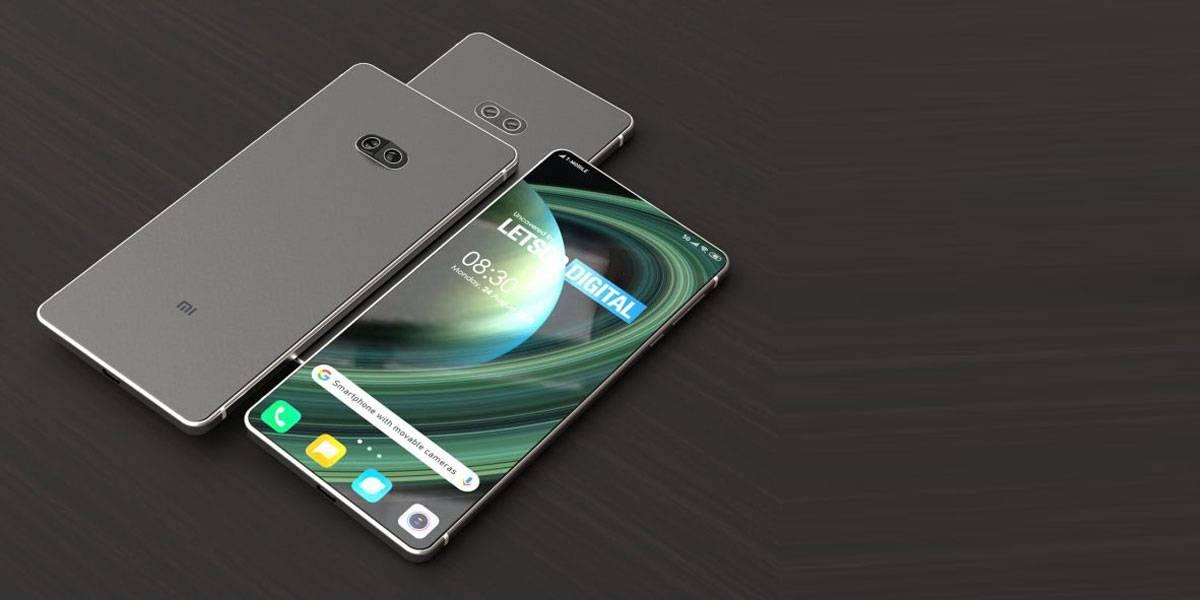 Xiaomi patenta un smartphone con lentes que se inclinan solos para mejores fotos