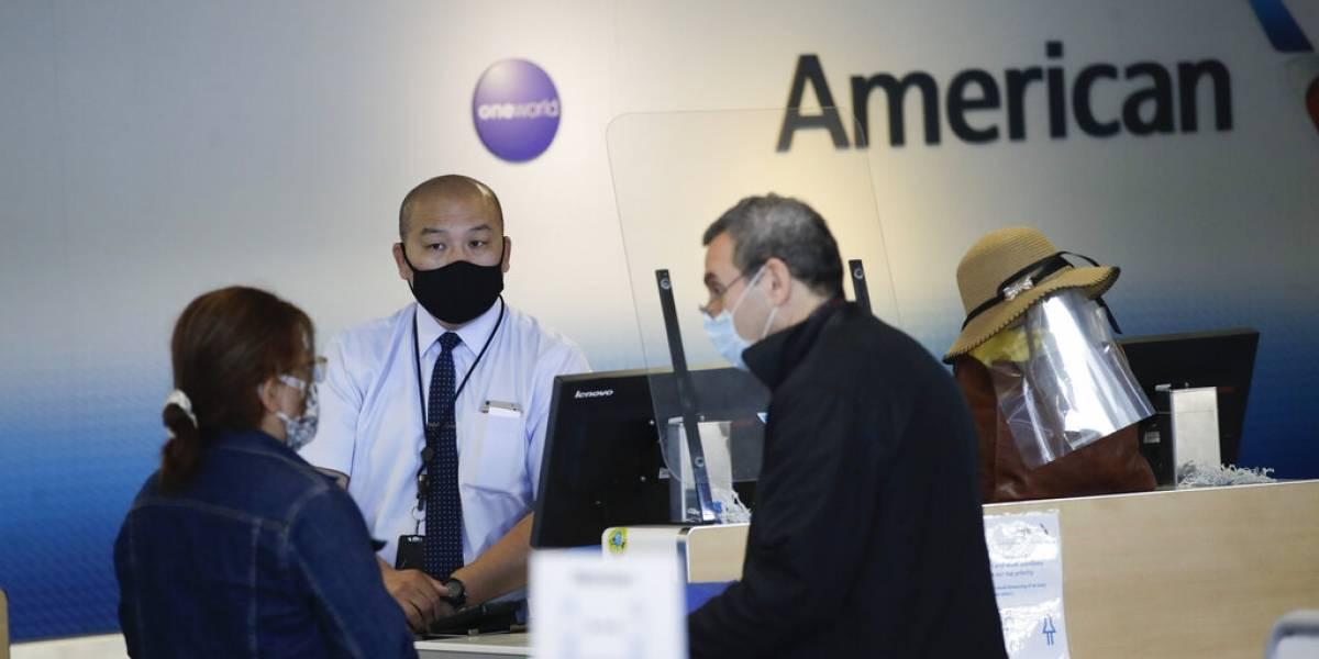 American Airlines eliminará 19,000 puestos de trabajo por reducción en viajes