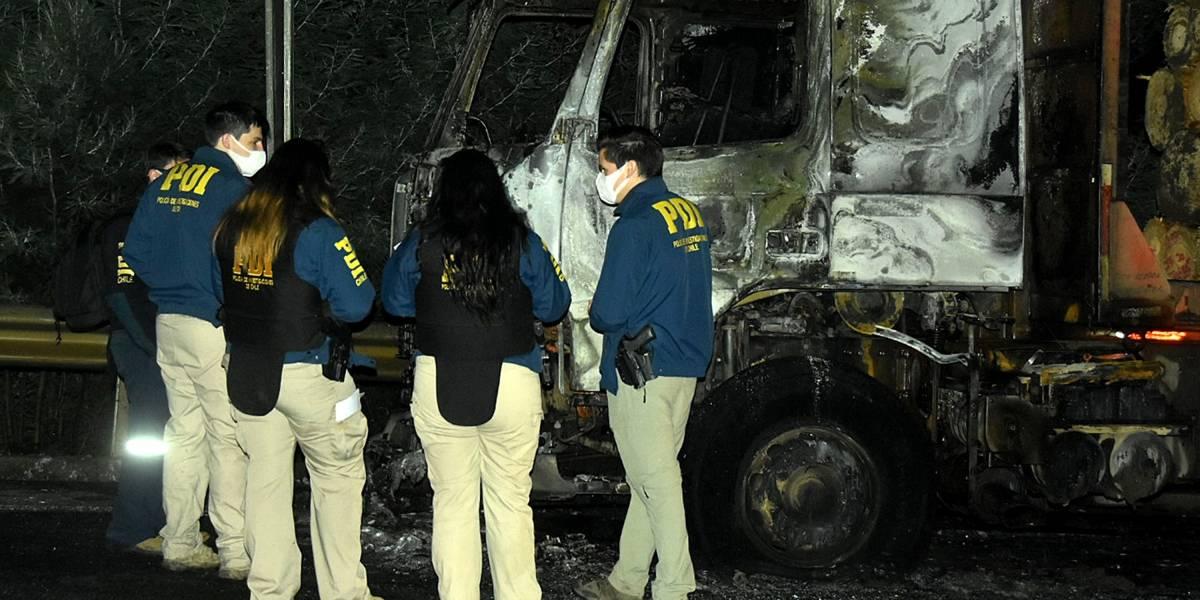 La Araucanía y Biobío ya registran cuatro atentados en las últimas 24 horas