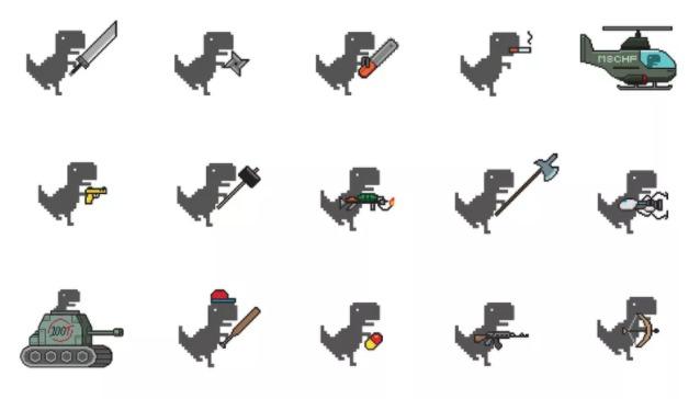 Google juego dinosaurio