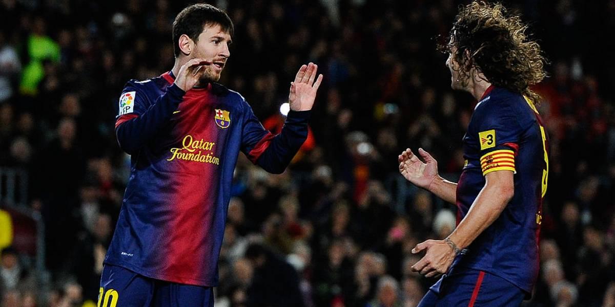 """Puyol se cuadra con Messi en su decisión de irse del Barcelona: """"Respeto y admiración"""""""