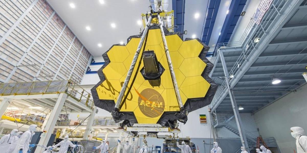 La NASA completó las pruebas terrestres de mando para el telescopio espacial James Webb