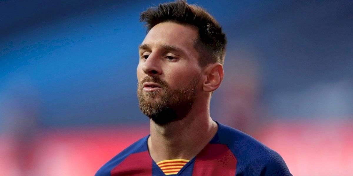 ¿Se va? Messi le informa al Barça que pretende irse del club
