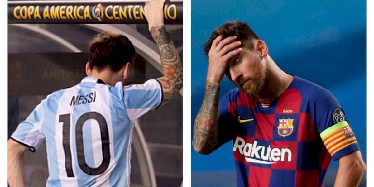 """La """"Roja"""" y el Bayern Múnich como verdugos: Las coincidencias entre las renuncias de Lionel Messi"""