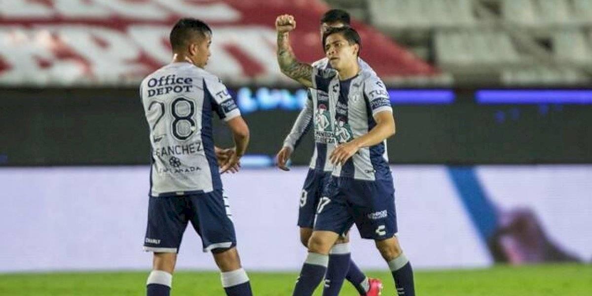 Goles chilenos en México: Víctor Dávila y Nicolás Díaz marcaron en triunfo de Pachuca sobre Mazatlán