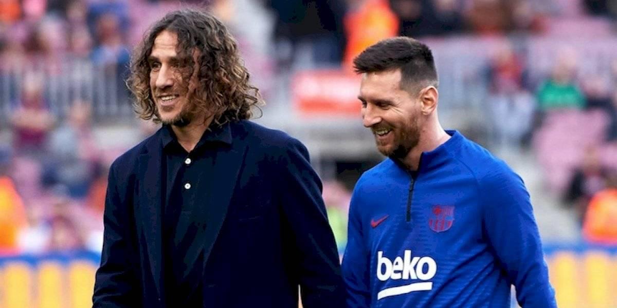 Puyol apoya a Messi ante presunta salida del Barcelona