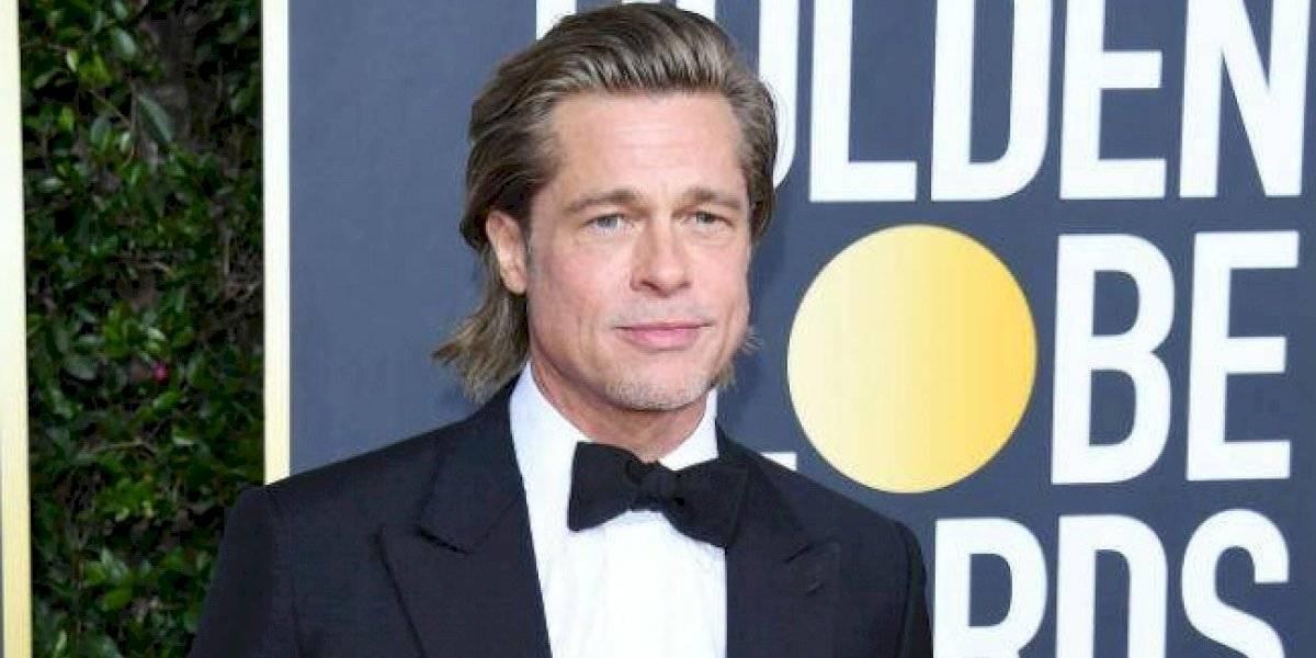 Dicen que ahora es verdad: Brad Pitt apareció en público con su nueva novia