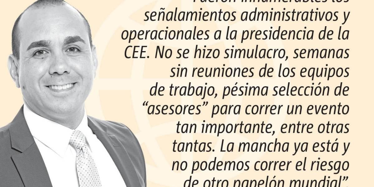 Opinión de Alex Delgado: Hay que cambiar en la CEE
