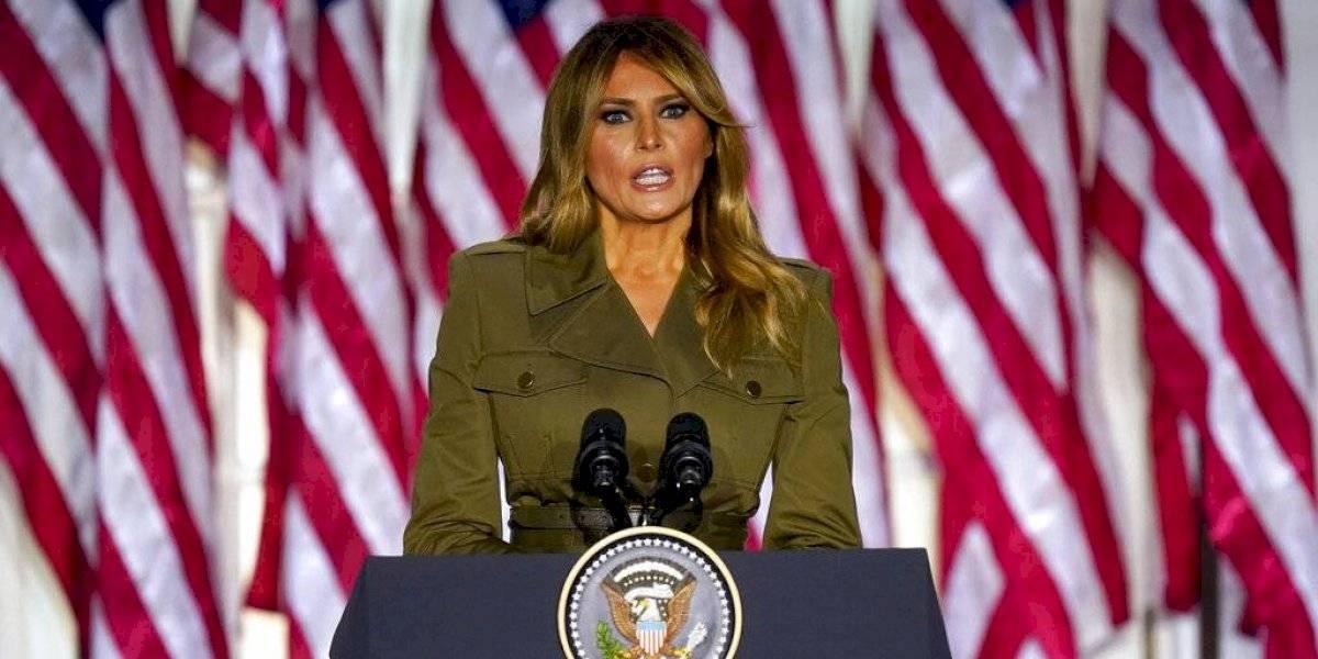"""Melania Trump: """"En mi esposo tienen a un presidente que no dejará de luchar por ustedes y por sus familias"""""""